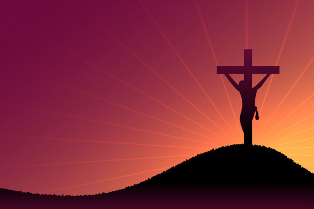 Up from the grave he arose!