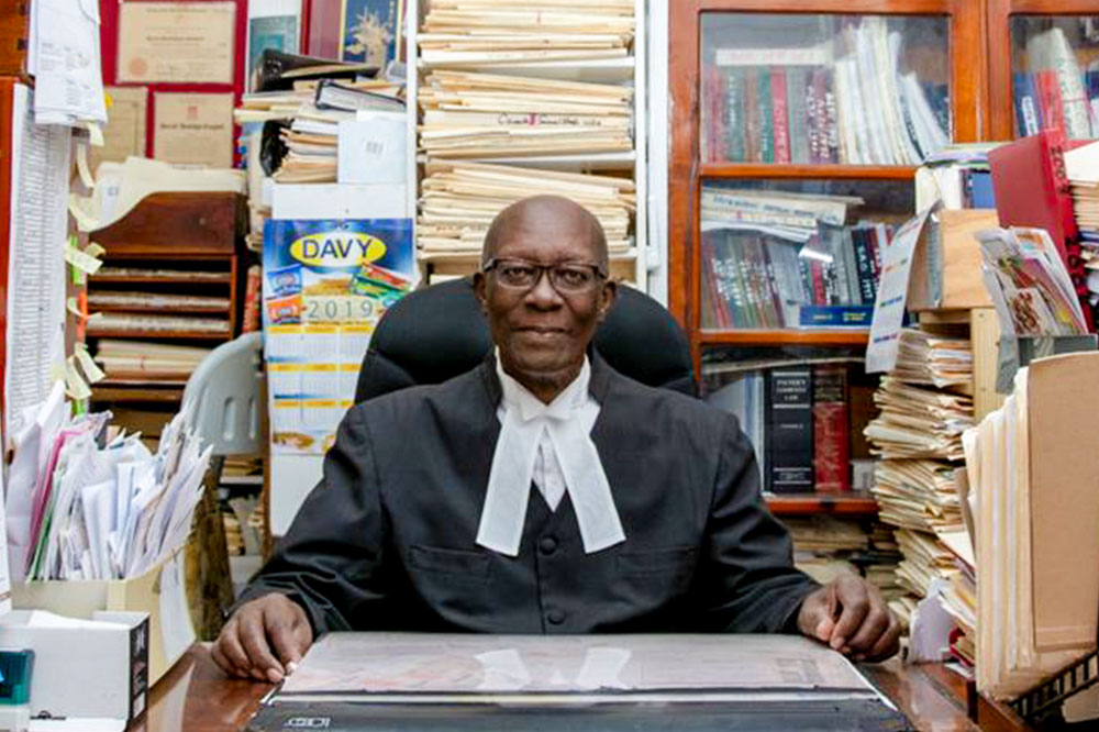 I am who I am because of his  tutelage and love – lawyer