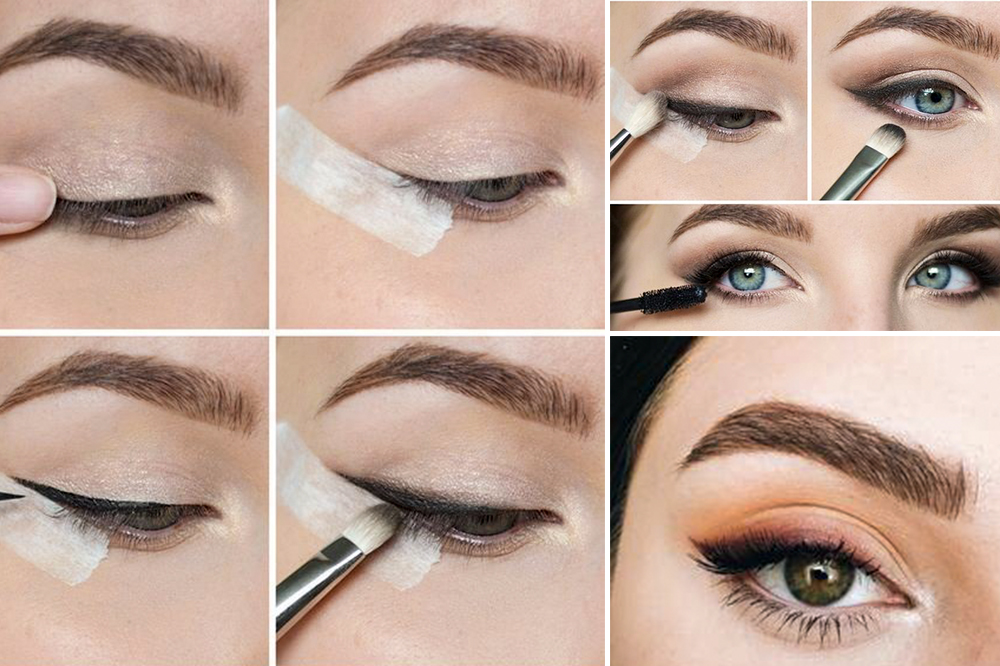 The faded winged eyeliner