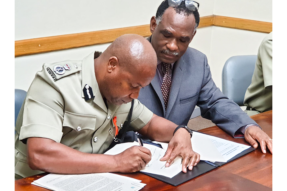 MOU signed to improve information sharing in Customs Law Enforcement