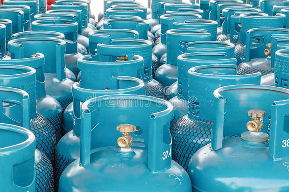 Cooking gas prices down