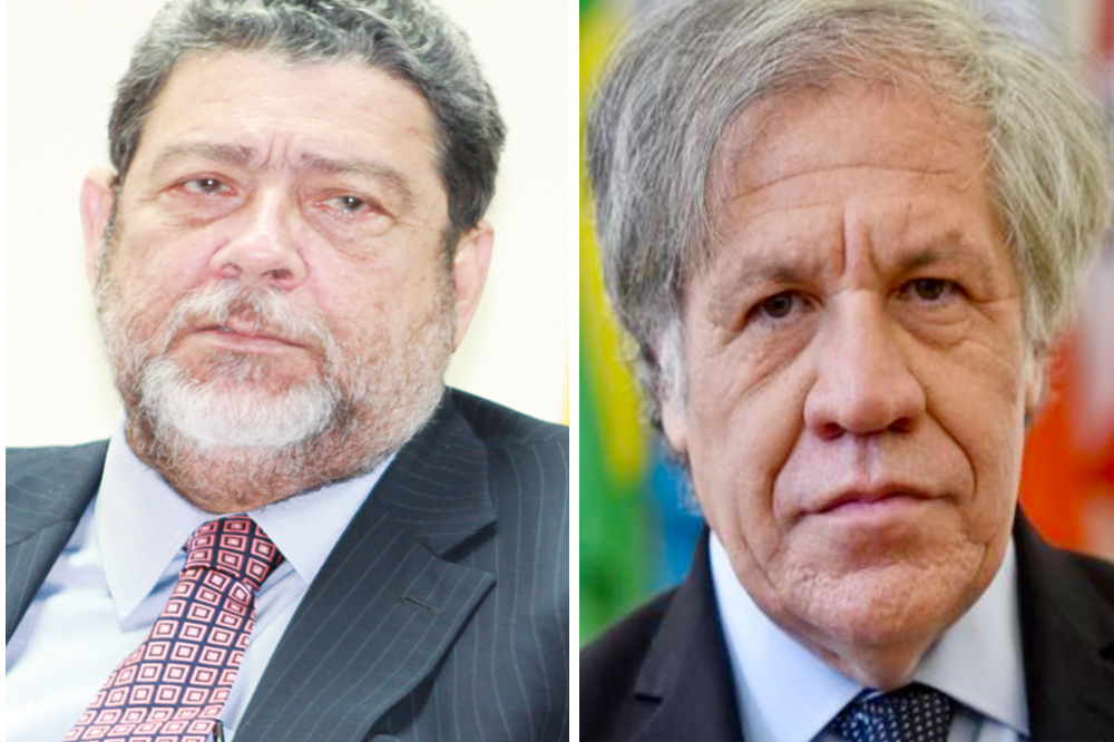 PM Gonsalves leads campaign against Almagro's re-election