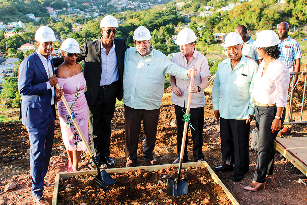 Investors break ground on US$60 million Royal Mill project