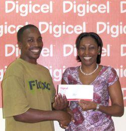 Two more win Digicel fortune