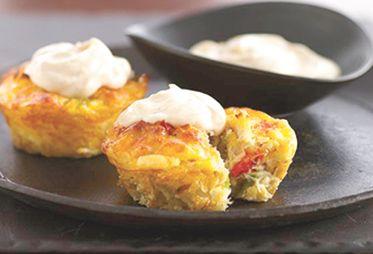 Mini Crab Cake Pies