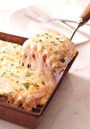 Creamy White Chicken Lasagne