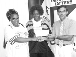 Sion Hill in OECS championship