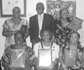 Five veteran nursing Sisters honoured