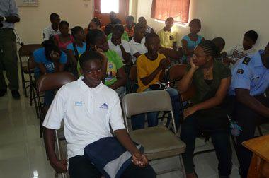 50 students in Coastguard summer youth program
