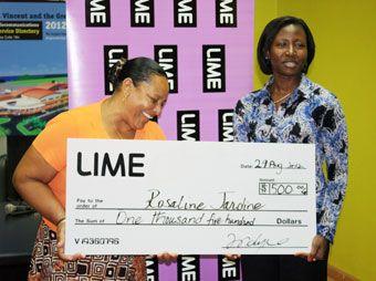 Fifteen winners already  in LIME Mega Moments