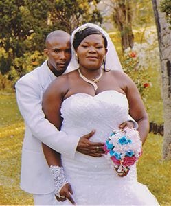 Happy anniversary  to Nicholas and Susan Ollivierre