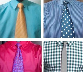 Tips for safe Shirt and Tie combinations