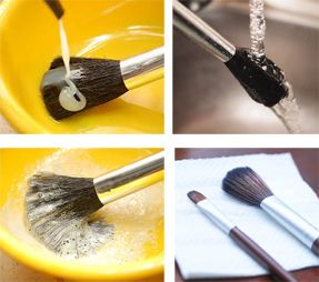 The Importance of Cleaning Make-up Brushes