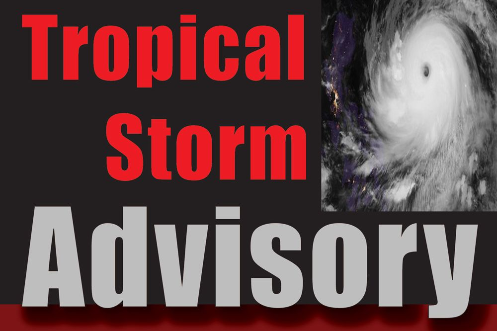 SVG Remains Under a Tropical Storm Warning