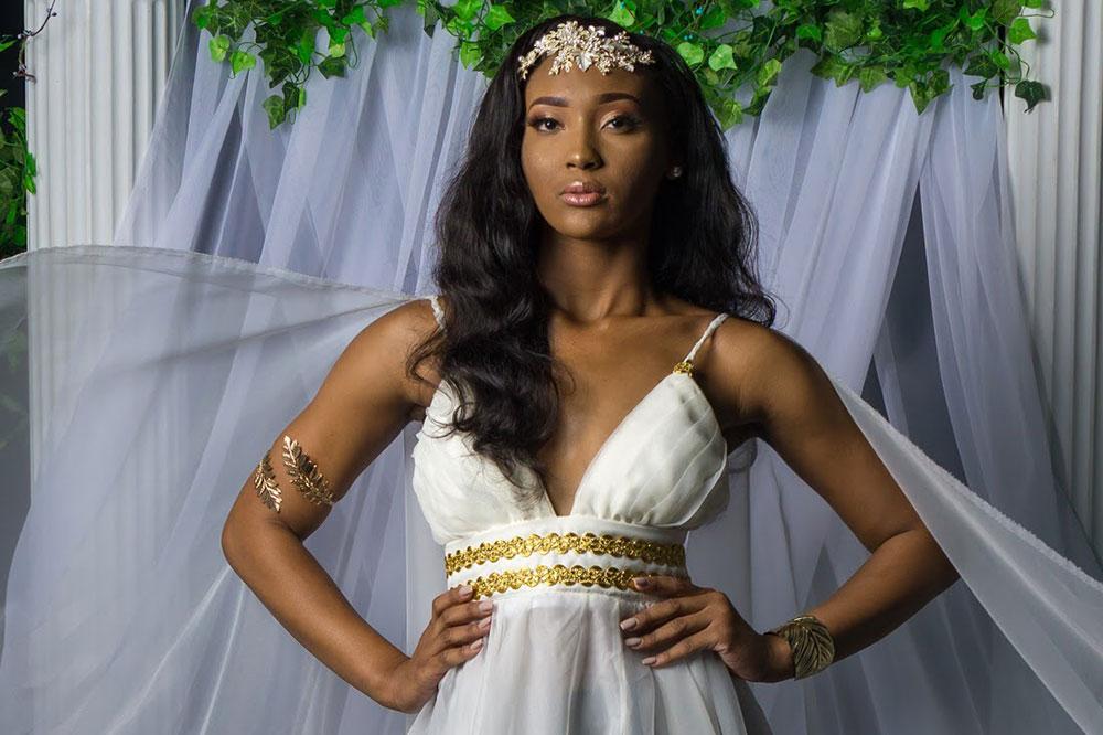 Miss Mustique Company Ltd. Sharikah Rodney Artemis- Goddess of the Hunt  Miss SVG 2019