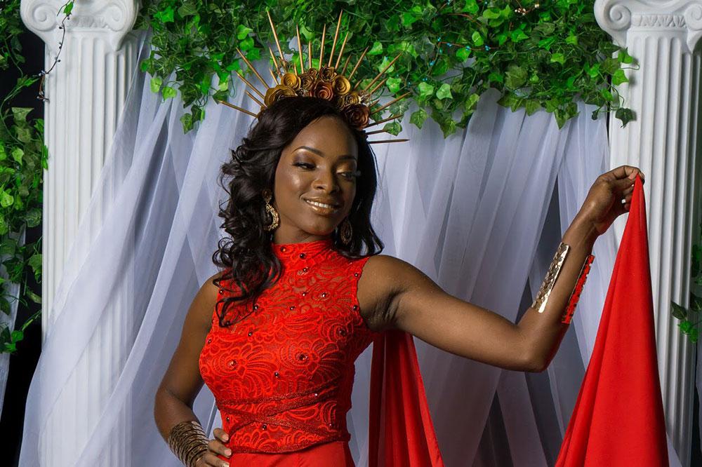 Miss Metrocint General Insurance Co. Ltd. Sylvorn Lavia  Nemesis- Goddess of Retribution Miss SVG 2019