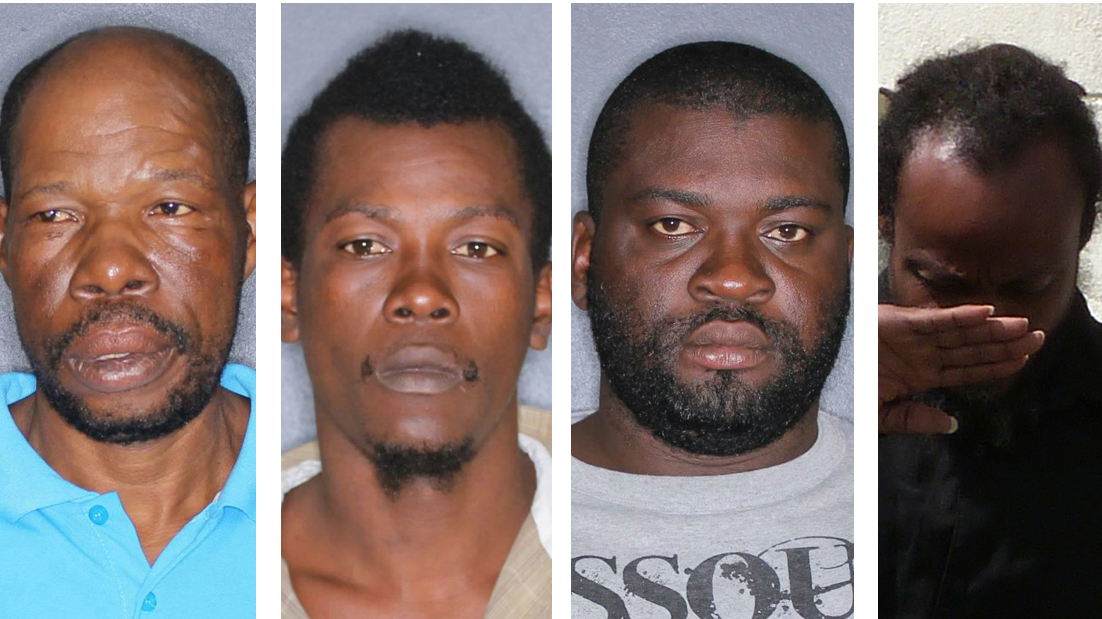 Four sentenced for terms between 17 and 11 years for trafficking marijuana
