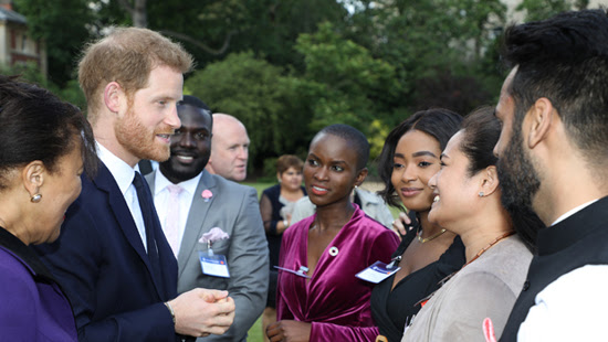 Duke of Sussex presents innovation awards at Commonwealth 70th anniversary garden party