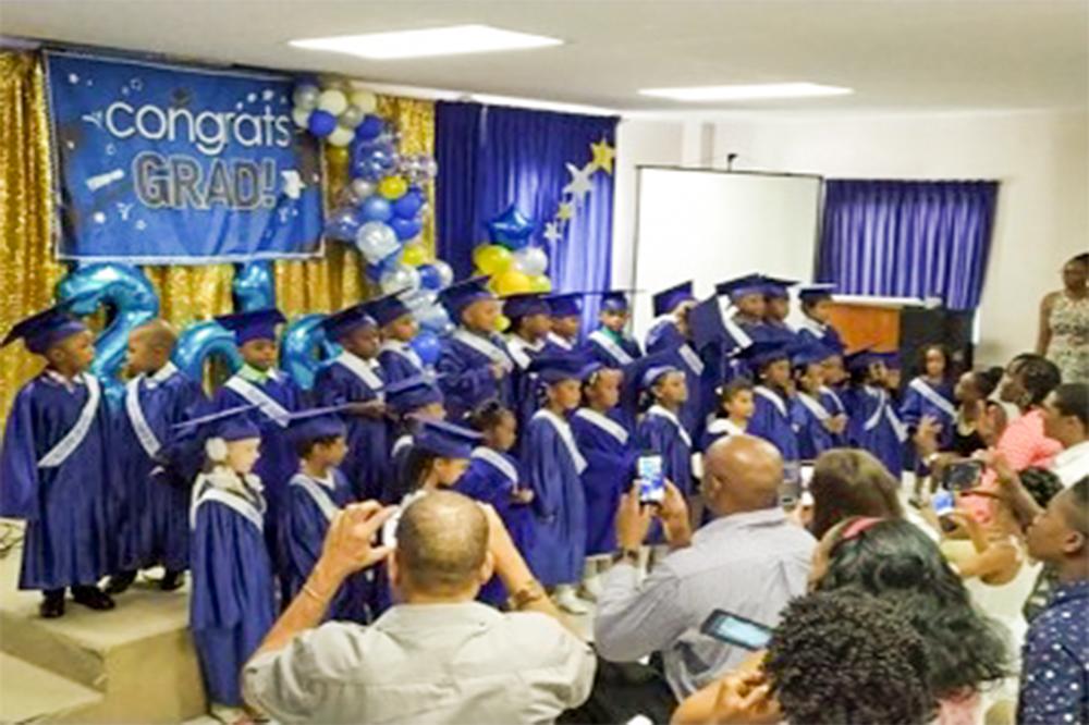 Headstart Pre-Schoolers Shine at Graduation