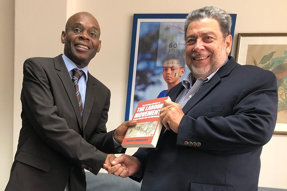 UN Special Envoy visits Dr Gonsalves