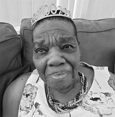 "Happy belated 100th birthday Mrs. Emmeline ""Mamalyn"" Nash-Barbour"