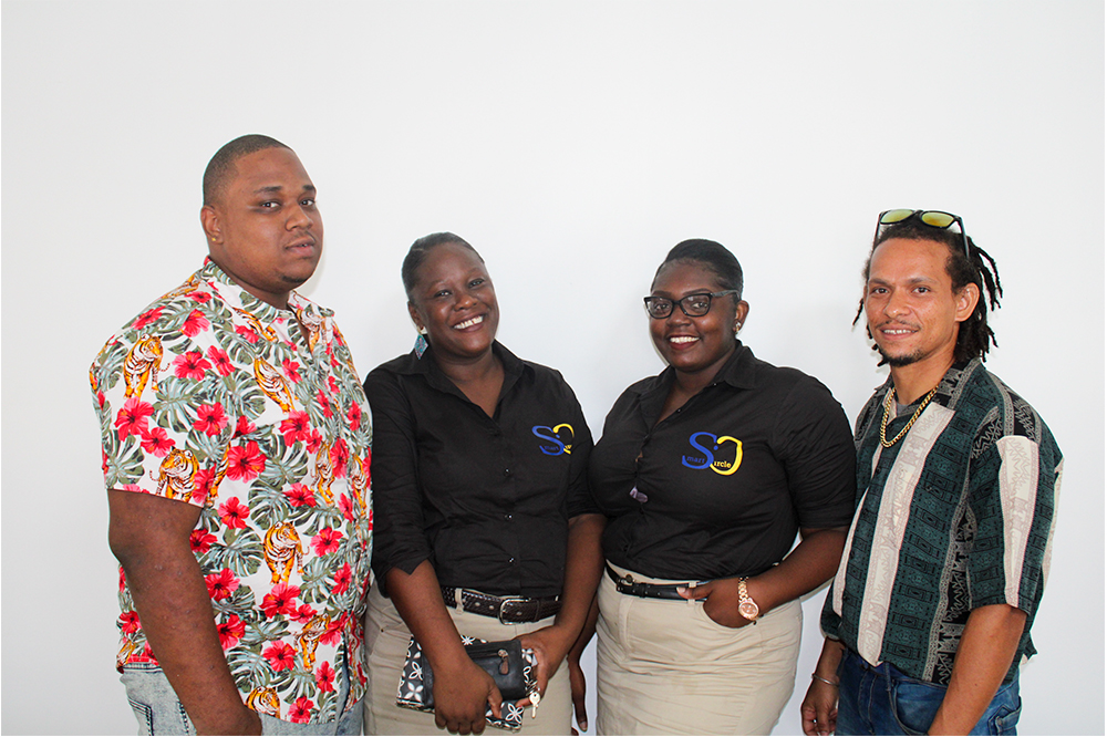 Young entrepreneurs launch  marketing and advertising agency