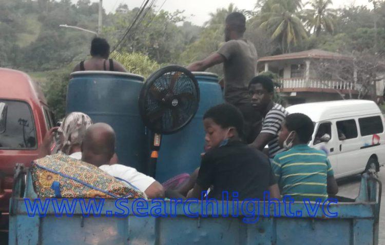 Mandatory evacuation of communities near to La Soufriere volcano begins