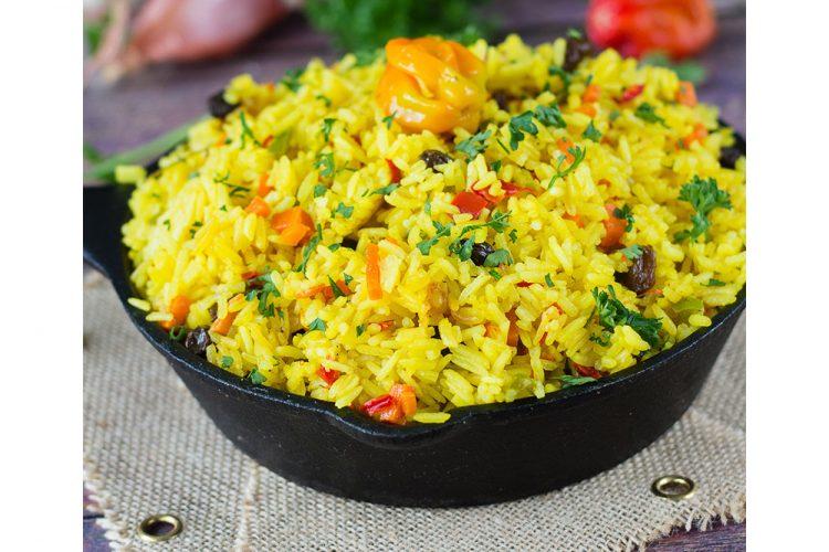 Yellow Saffron Rice