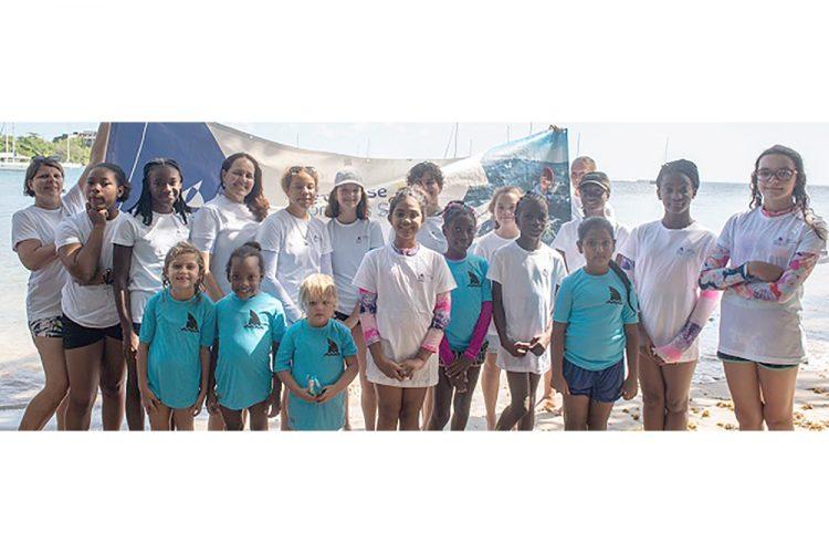 SVG participates in Global Women's Sailing Festival