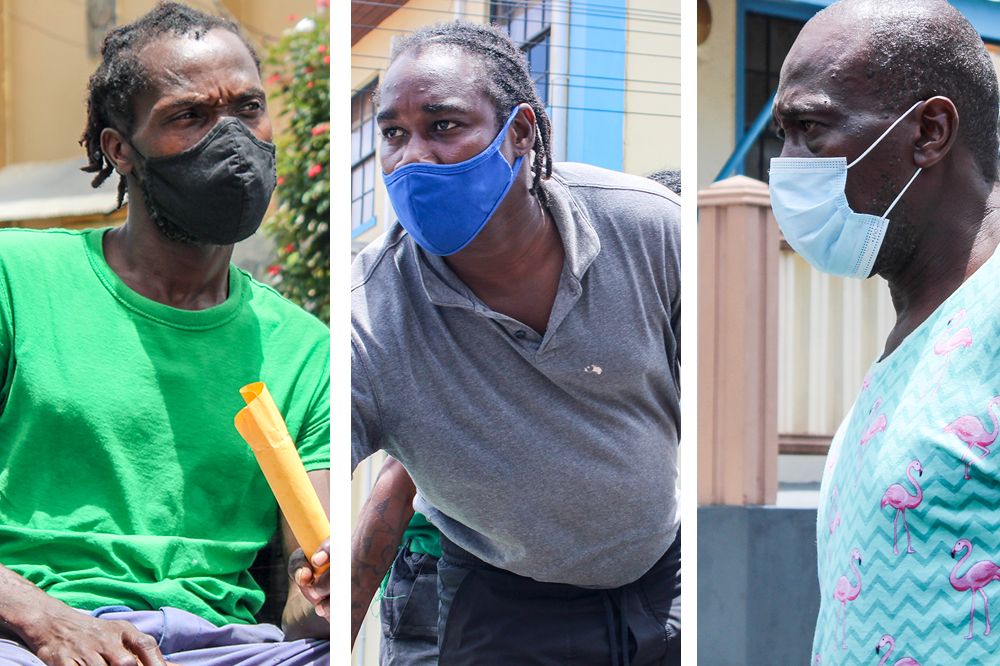Two men remanded, two granted bail in Bequia marijuana case