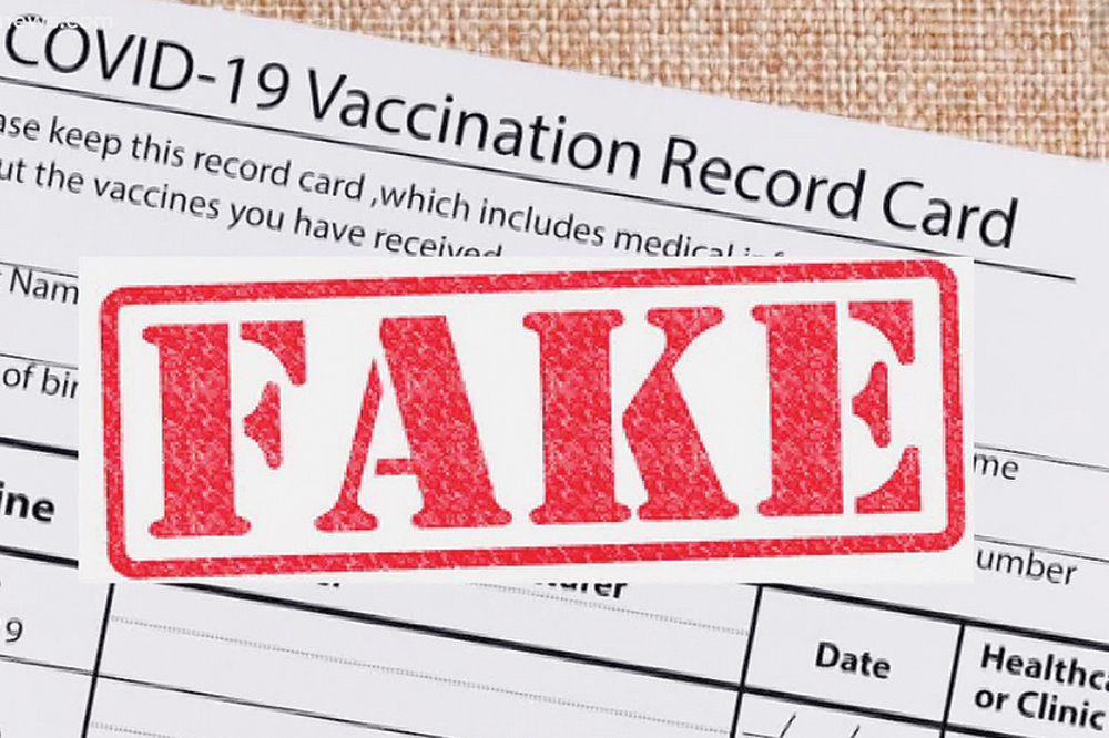 Vincentians paying up to $1,500 for fake COVID vaccine certificates