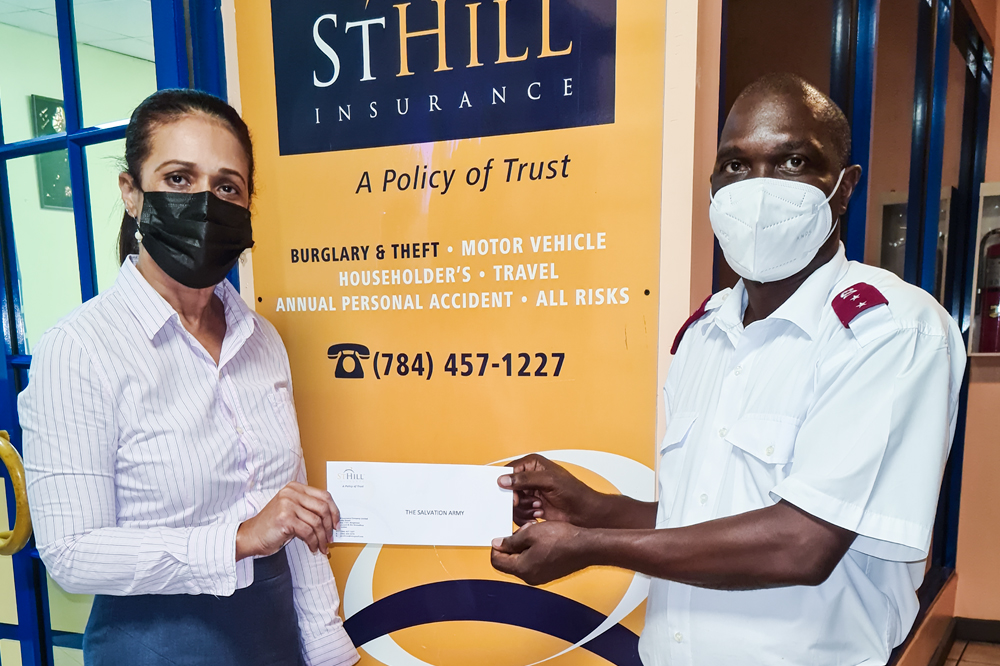 St Hill partners with the Salvation Army to provide Volcano Relief