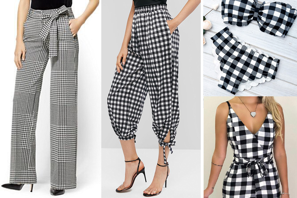 The Black and White Plaid