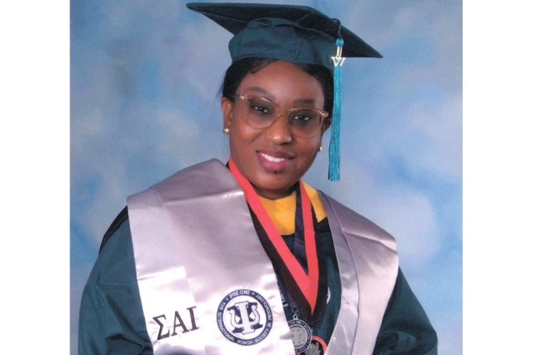 Congratulations going out to Anique Edwards