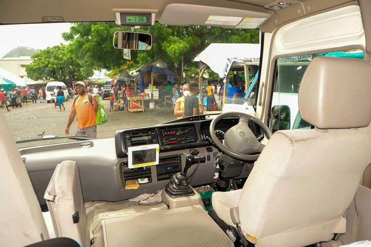 Minibus operators begin to sign up for e-Bus system