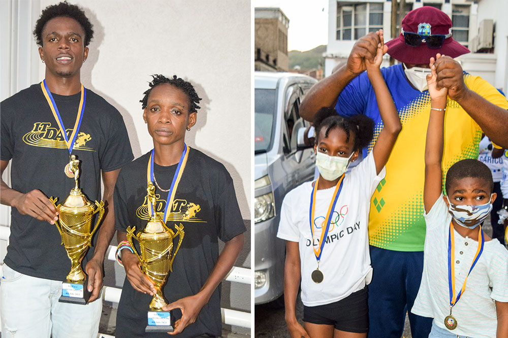 Local runners compete in Caricom open 10k