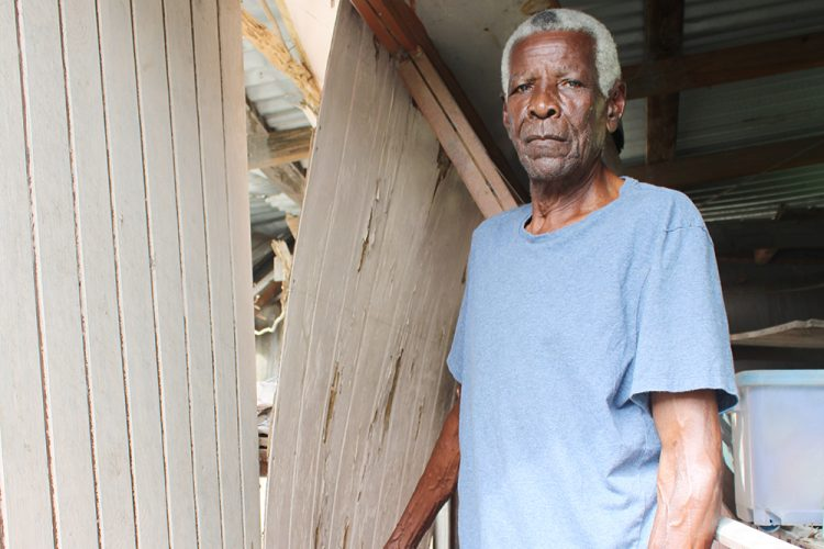 78-year-old Chateaubelair resident waiting for some help