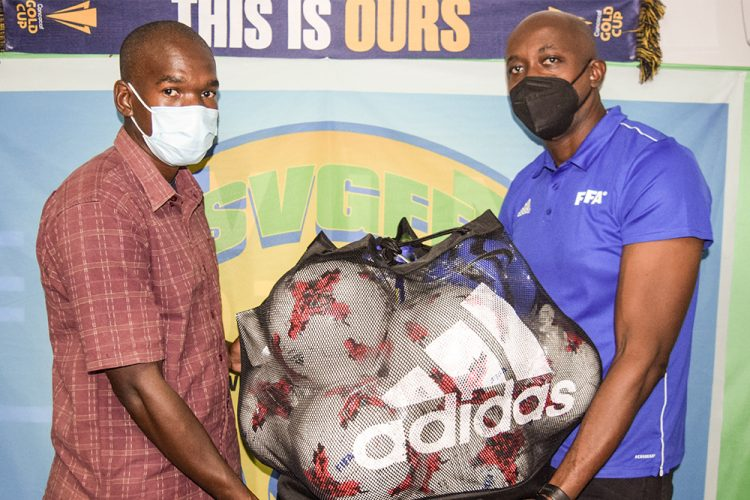 Football affiliates benefit from SVGFF/ FIFA initiative