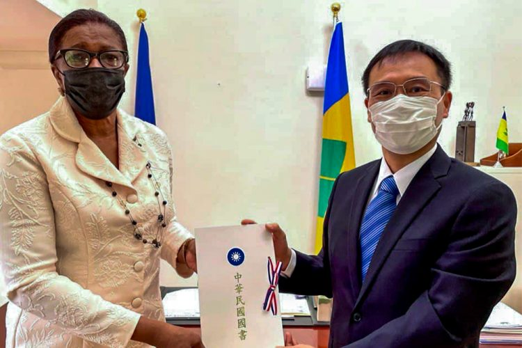New Taiwan ambassador presents letter of  credence to GG