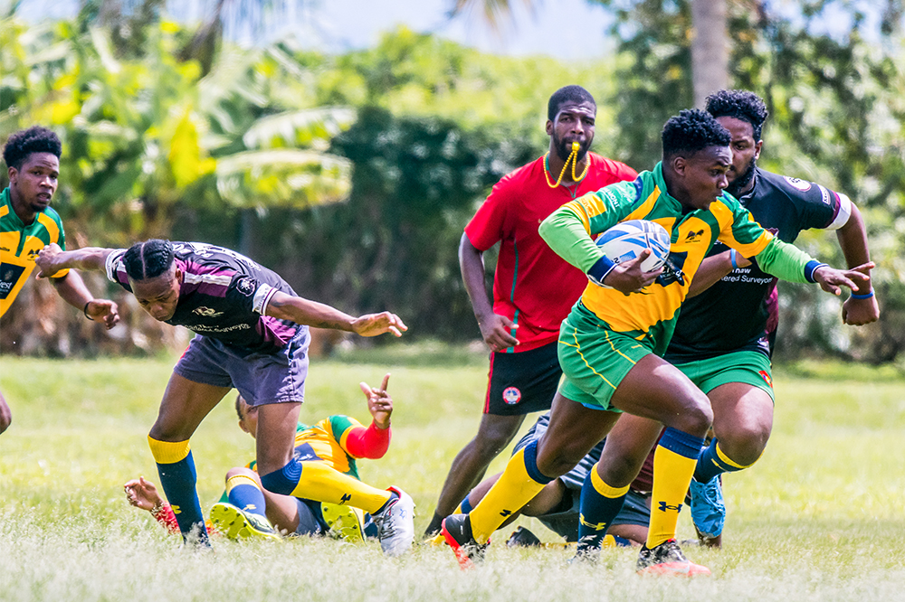 Invaders in command of Rugby Sevens