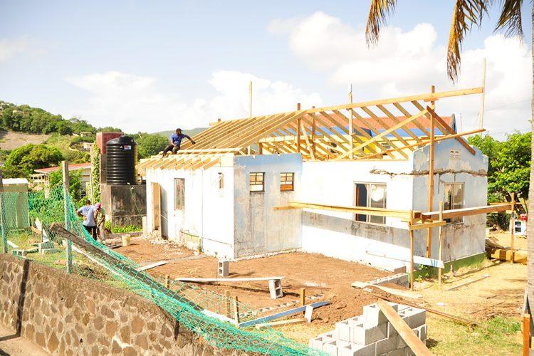 Refurbishment work  commences on Bequia Community High School (+Video)