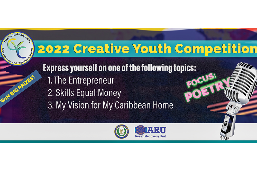 ECCB and RSS Recovery Unit to host youth poetry competition 2022