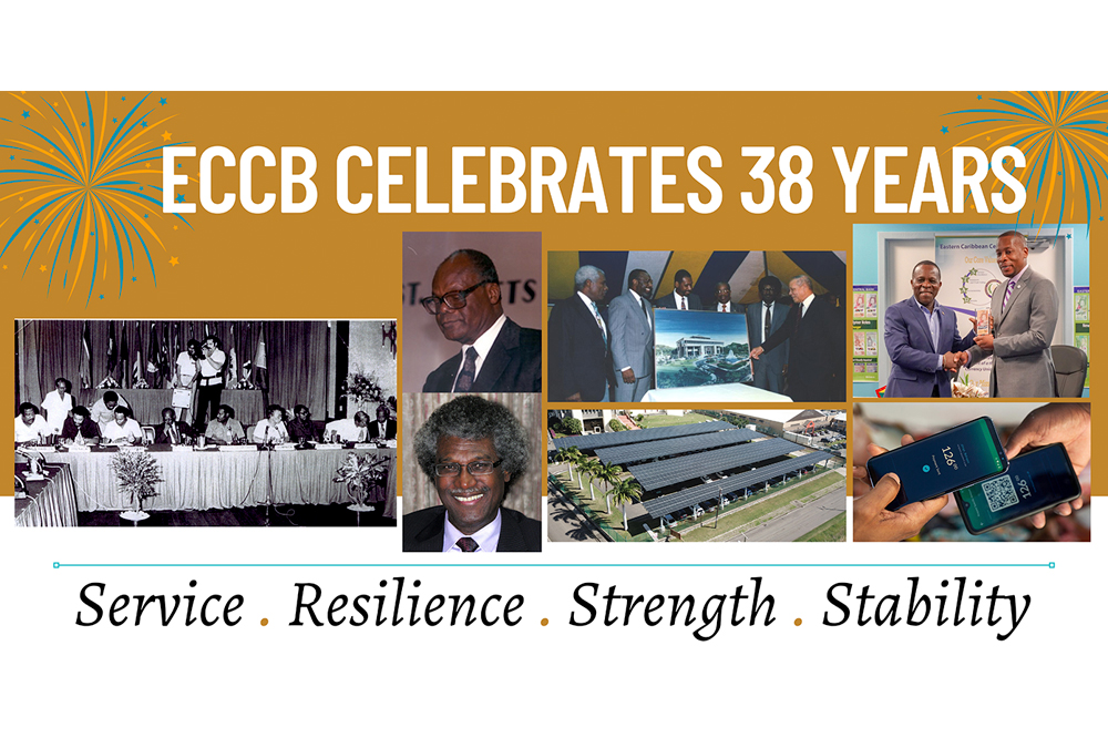 ECCB celebrates 38 years of service to region