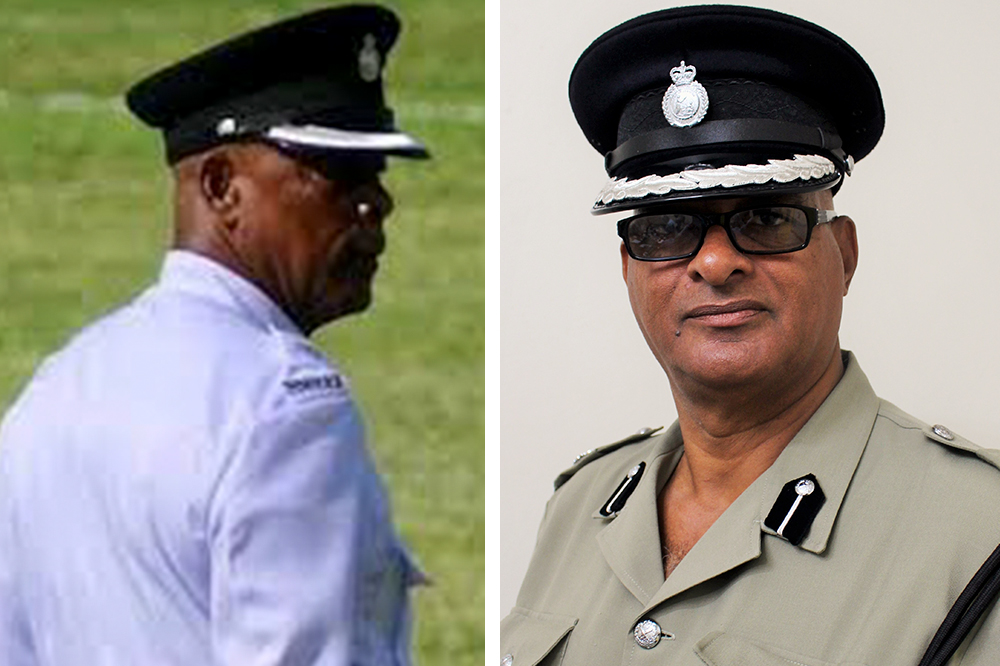 Two senior cops retire