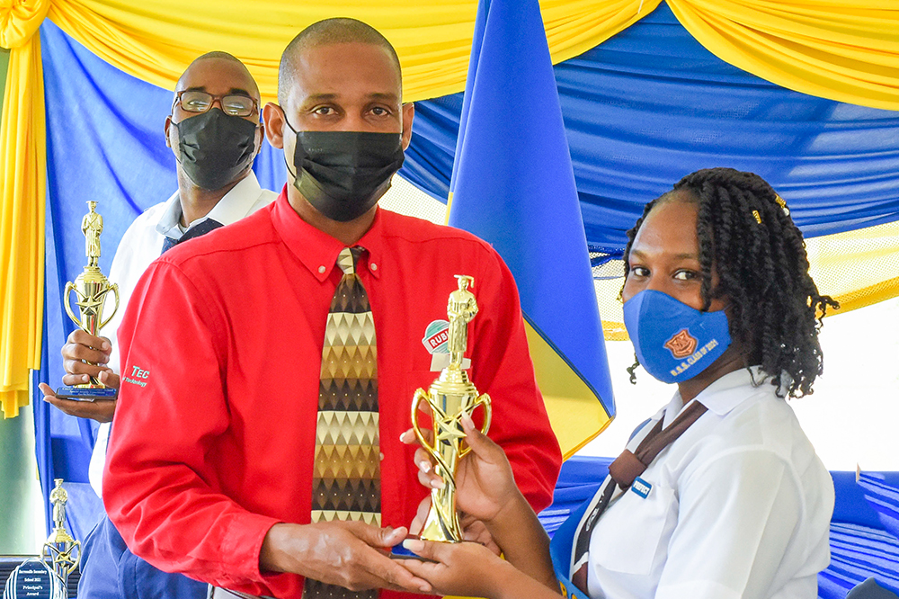 RUBIS rewards outstanding students at Central Leeward Secondary School