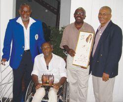 Bascombe, Daniel receive NOC awards