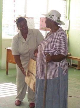 Argyle Primary gives to elderly