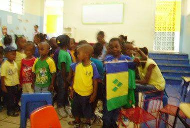 Vinsave pre-schoolers learn about patriotism