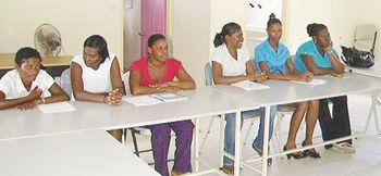 Mustique Company trains Caregivers at Vinsave
