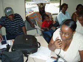 Union Island gets radio equipment